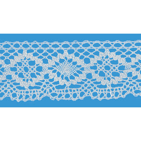 NATURAL 2 INCH CLUNY LACE CHAIN