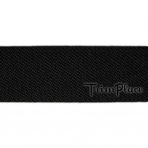 BLACK 1 INCH STRETCH WEBBING