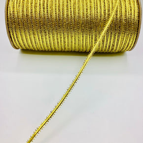 "Trimplace Gold 1/4"" Pico Edge Braided Trim"
