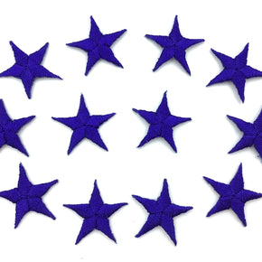 "Royal 7/8"" Star Iron-on Embroidered Applique"