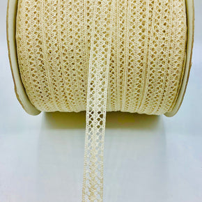 "Natural 3/4"" Cluny Lace Insert"