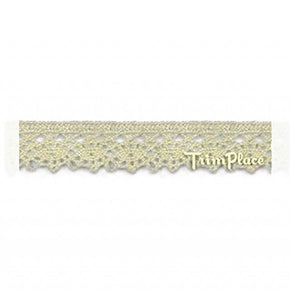 NATURAL 1/2 INCH EXTRA FINE CLUNY LACE