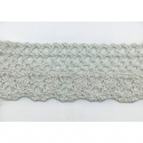Trimplace White 1 - 5/8 Inch Heavy Weight Cluny Lace