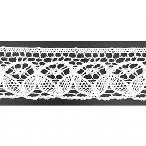 Trimplace White 1-1/2 Vintage Cluny Lace