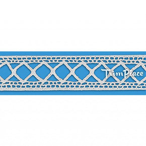 WHITE 7/8 INCH LATTICE INSERT