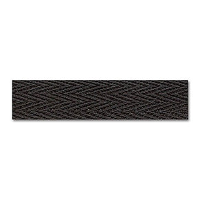 BLACK 1/2 INCH TWILL TAPE