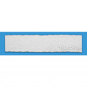 WHITE 1/2 INCH TWILL TAPE