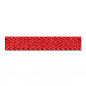 RED 3/8 INCH TWILL TAPE