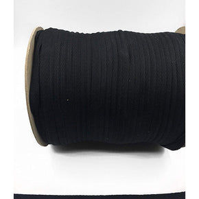Trimplace Black 3/8 Inch 100% Cotton Twill Tape