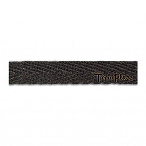 DARK BROWN 3/8 INCH TWILL TAPE