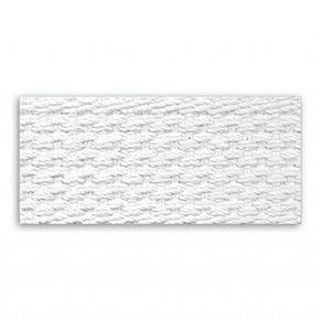 WHITE 1 INCH COTTON WEBBING