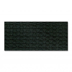 BLACK 1 INCH COTTON WEBBING