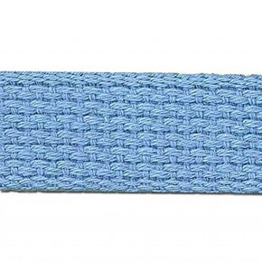 LT BLUE 1 INCH COTTON WEBBING