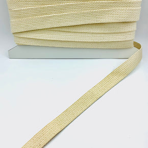 NATURAL 1 INCH COTTON WEBBING