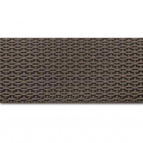 BROWN 1 INCH POLYPROPYLENE WEBBING