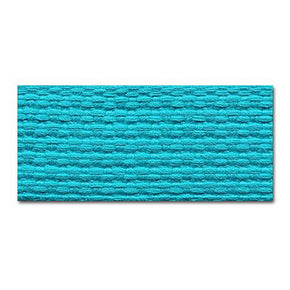 TURQUOISE 1 INCH COTTON WEBBING