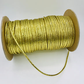 "Trimplace (Gold) 1/8"" Braided Tublar Cord"