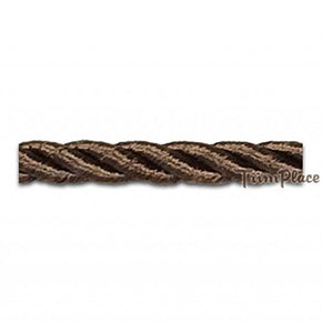 "BROWN 6MM (1/4"") RAYON TWIST CORD"