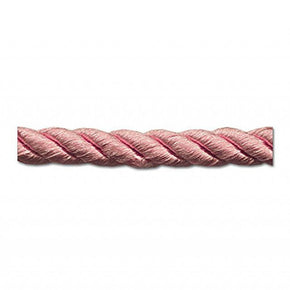 "MAUVE 6MM (1/4"") RAYON TWIST CORD"
