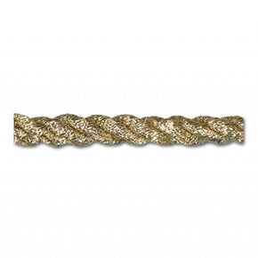 "METALLIC GOLD 6MM (1/4"") FRIZZETTE TWIST CORD"