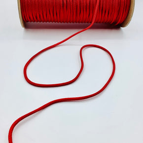 "RED  3/16"" RAYON BOLO CORD"