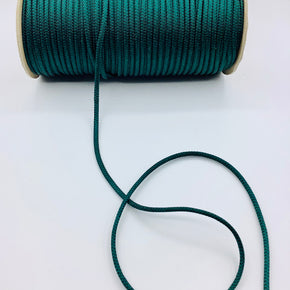 "FOREST GREEN 3/16"" RAYON BOLO CORD"
