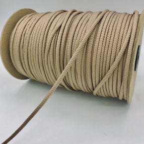 "Trimplace Beige 3/16"" Rayon Bolo Cord"