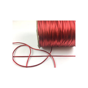 Trimplace Rust Satin Cord Rattail Chinese Knot 2mm