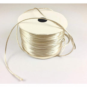 Trimplace (Beige) Petite Satin Cord Rattail Chinese Knot - 1.5mm