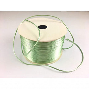 Trimplace (Mint) Petite Satin Cord Rattail Chinese Knot - 1.5mm