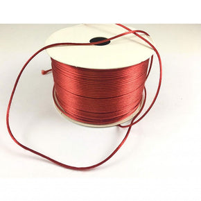 Trimplace (Rust) Petite Satin Cord Rattail Chinese Knot - 1.5mm