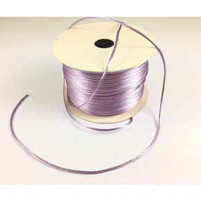 Trimplace (Lilac) Petite Satin Cord Rattail Chinese Knot - 1.5mm