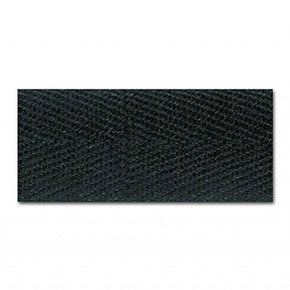 BLACK 1 INCH HEAVY TWILL TAPE