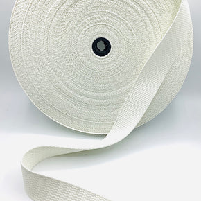 "COTTON WEBBING 1-1/2""----WHITE"