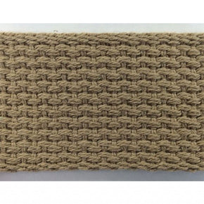 "COTTON WEBBING 1-1/2""----BEIGE"