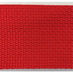 POLYPROPYLENE WEBBING-2 INCH--RED