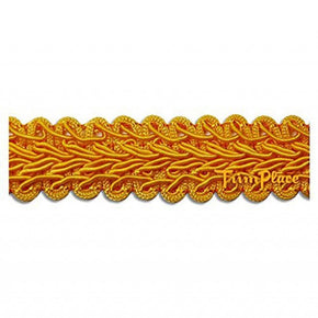 FLAG GOLD 3/4 INCH CHINESE BRAID