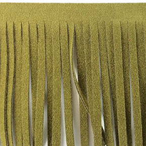 MOSS 2 INCH FAUX SUEDE FRINGE