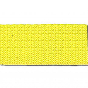 YELLOW 1 INCH POLYPROPYLENE WEBBING