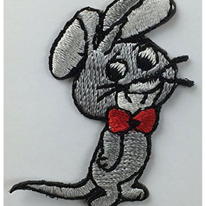 "MOUSE PRESS-ON APPLIQUE 1-1/8"" X 1-3/4"""
