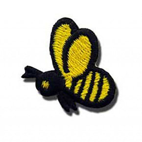 "BUMBLE BEE PRESS-ON APPLIQUE 1"" X 1"""