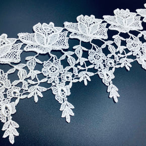 "Winter White 4-1/4"" Venice Lace"