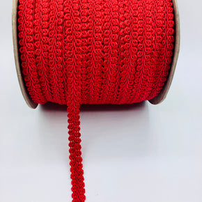 "Red 5/8"" Chinese Braid"