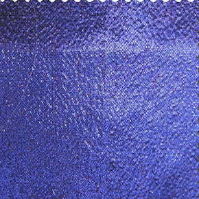 Navy Tissue Lamé Fabric