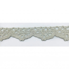 Trimplace Off-White 3/4 Inch Vintage Cluny Lace
