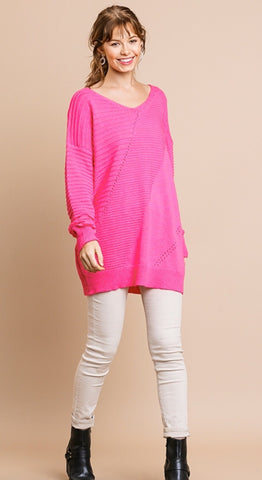 Rose Powder Sweater
