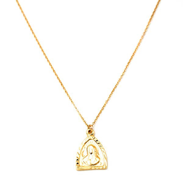 Gold Filled Triangle Necklace