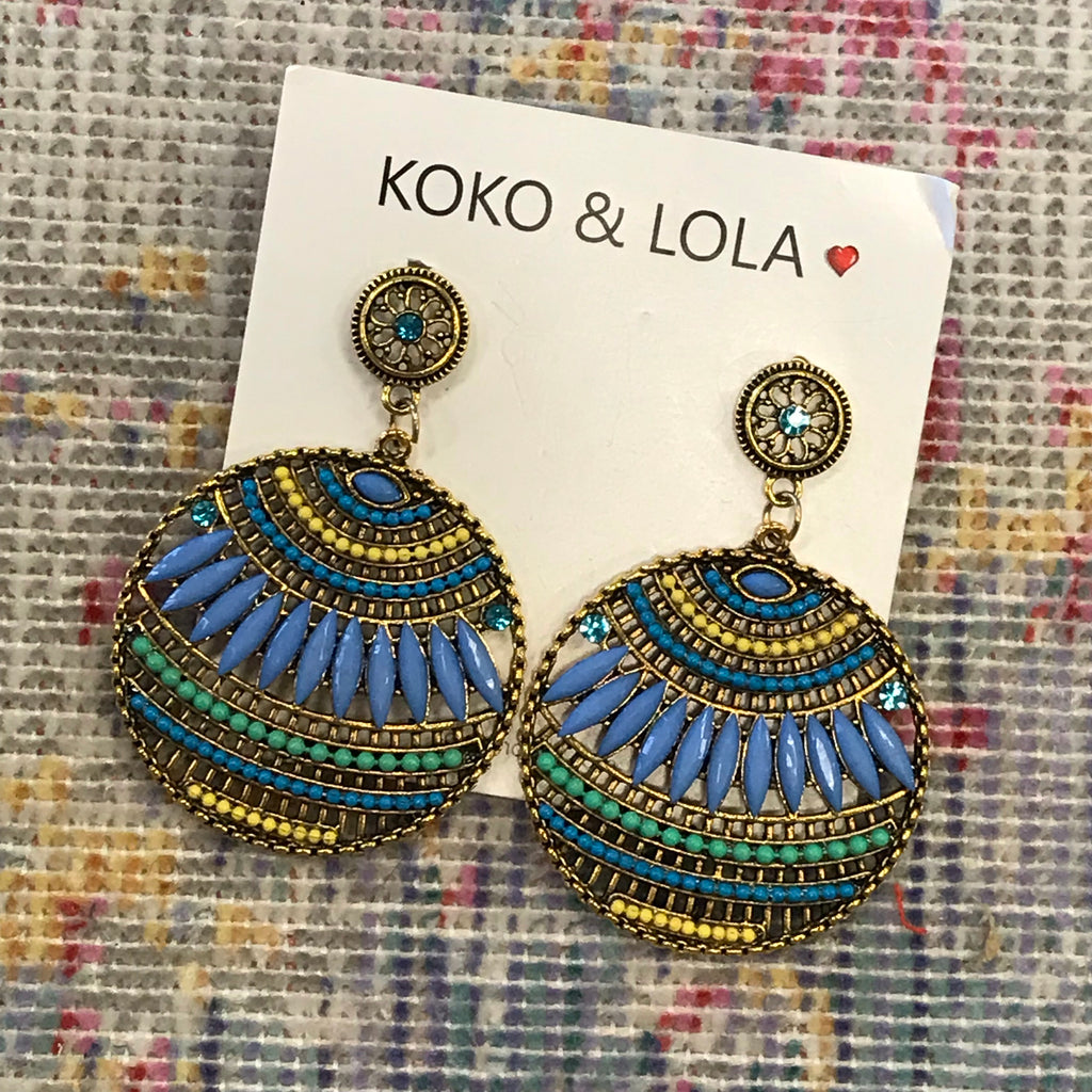 Beaded Bella Earring