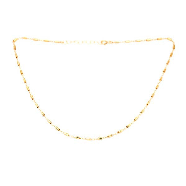 Thick Barrel Chain Necklace