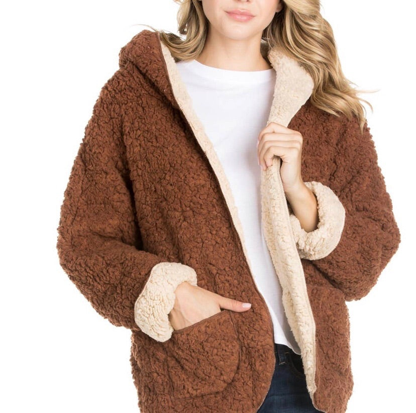 Brown Fur Jacket